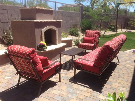 Upholstery Az patio furniture mesa chicpeastudio