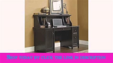 sauder edge water computer desk sauder edge water computer desk estate black