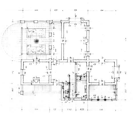 working drawing floor plan villa muhammad fathy working drawing ground floor plan