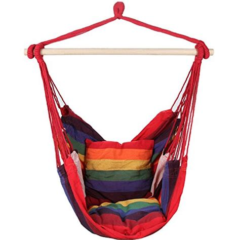 suesport hanging rope chair swing hanging hammock chair