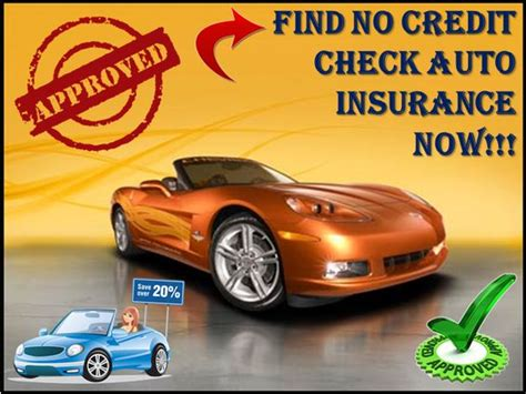 Check Car Insurance Rates how to get cheap auto insurance with no credit check and