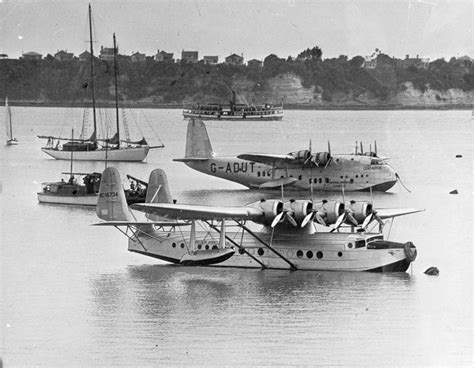 pan am flying boat pan am s samoan clipper in auckland nzhistory new