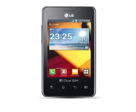 mobile phone optimus l2 (lge405) lg electronics australia