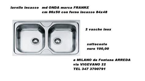lavello 2 vasche inox lavello 2 vasche inox franke elettrodomestici a prezzi