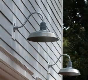 galvanized barn light fixtures garage lighting galvanized gooseneck lights