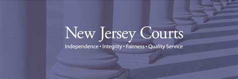 Nj Judicial Search New Jersey Courts Njcourts