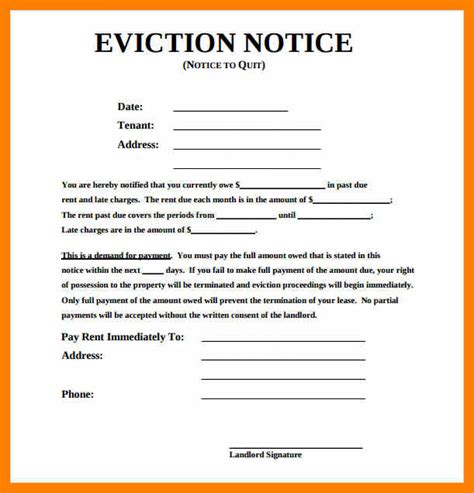 4 eviction notice template uk gcsemaths revision
