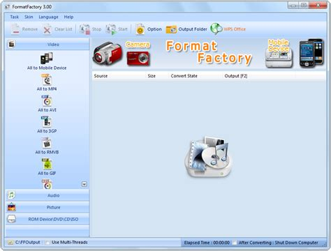 format mac mini to factory free audio video converter format factory