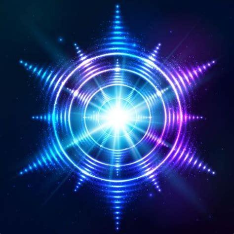 Shining Bright Es abstract bright shining light circle vector 07