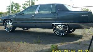 1996 Cadillac Fleetwood Lowrider For Sale 1996 Adriatic Blue Metallic Cadillac Fleetwood