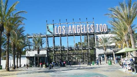 Los Angeles Zoo And Botanical Gardens Los Angeles Ca Entrance Picture Of Los Angeles Zoo Botanical Gardens Los Angeles Tripadvisor