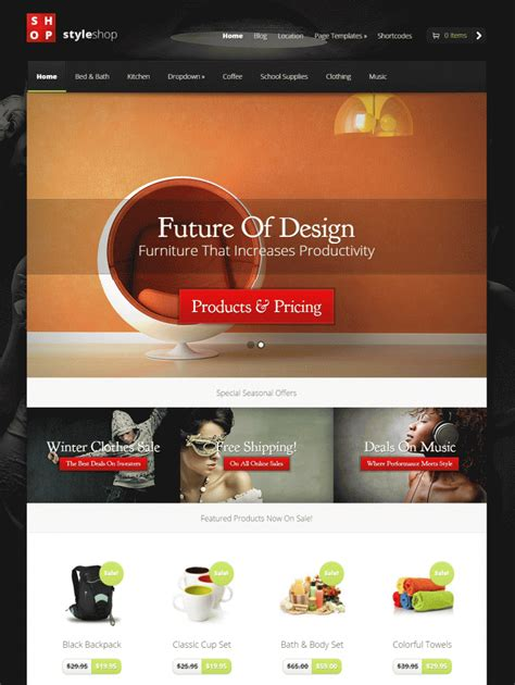 wordpress themes free download for e commerce 32 ecommerce wordpress themes templates free