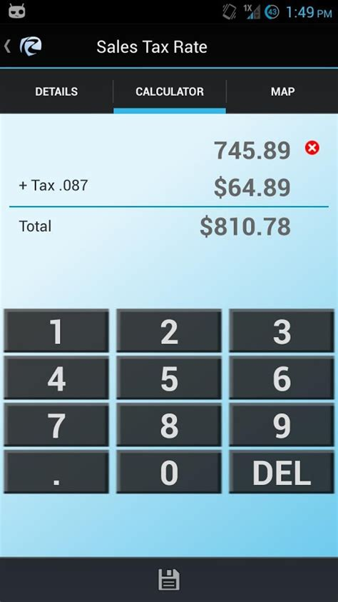 Wa Sales Tax Lookup By Address Wa Sales Tax Rate Lookup Android Apps On Play