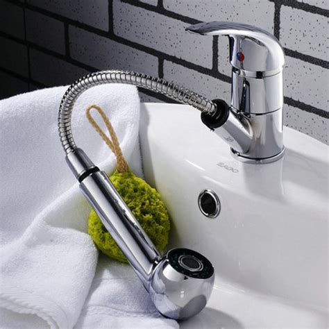 bathroom faucet with sprayer buy chrome sink bath faucet spray shower replacement bazaargadgets