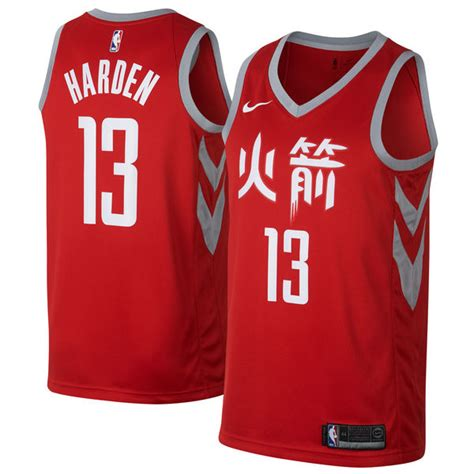 houston rockets new year jersey for sale rockets 13 harden slate new year