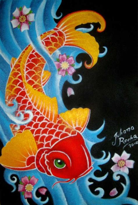 colorful koi fish tattoo designs koi fish design tattoos design