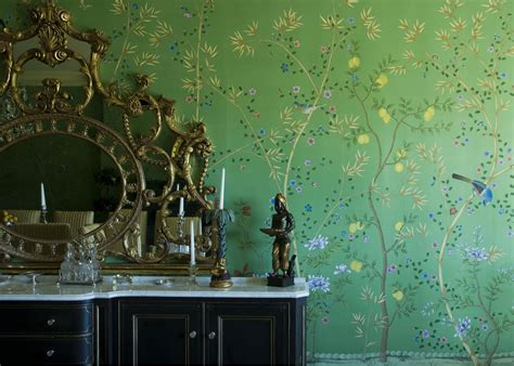 wallpaper green uk chinese wallpaper a living tradition treasure hunt