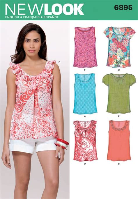 sewing seperates on pinterest free sewing womens new looks women s tops and sewing patterns on pinterest