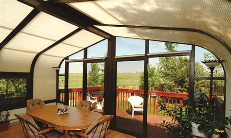 Sunroom Shades Sunroom Blinds And Patio Shades Great Day Improvements