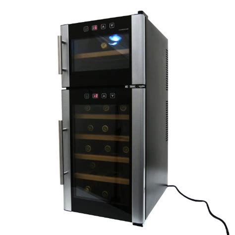 Wine Rack Cooler by Shopping Homeimage 21 Bottle Dual Zone Thermoelectric Wine