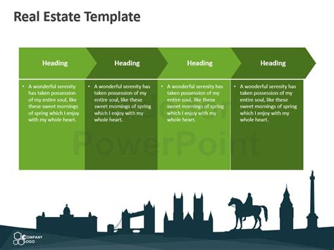 template real estate real estate editable powerpoint template