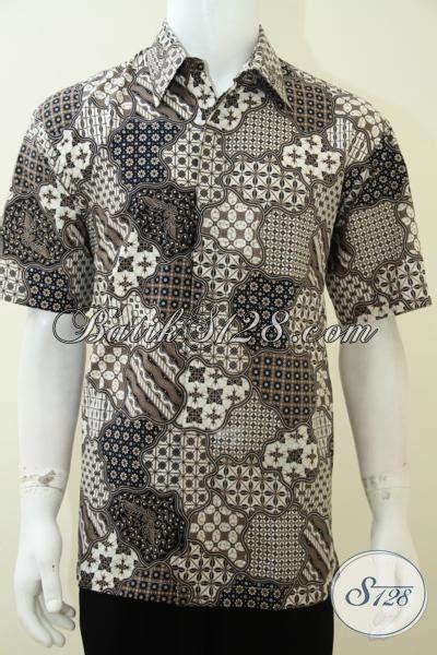 Hem Misua Baju Wanita Bagus Murah baju hem batik murah motif klasik untuk pria bagus tidak luntur ld2064p xl toko batik