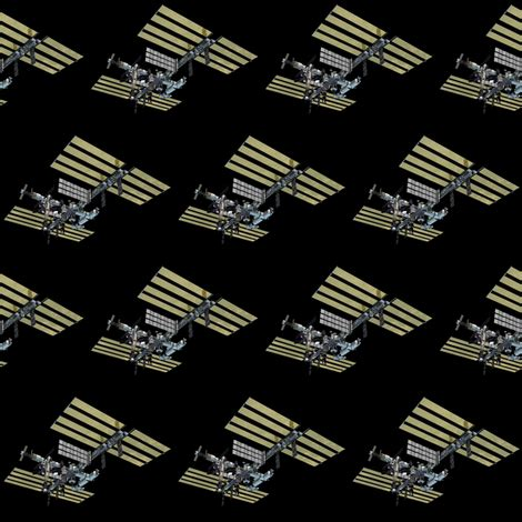 international space station fabric silicon_cowgirl