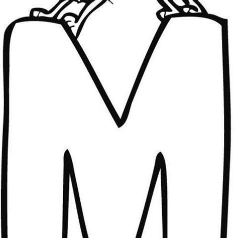 imagenes infantiles con la letra m dibujo infantil para colorear de la letra m dibujos del