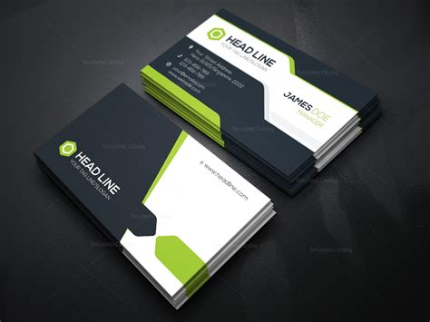 company card template corporate business card template 000078 template catalog