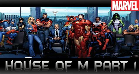 house of m house of m part 1 comic world daily youtube