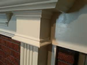 trim around fireplace remodeling the ugliest fireplace in the world diy