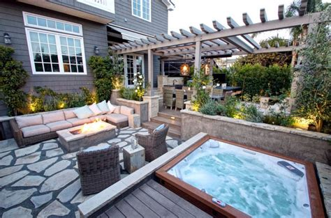 Spa Patio Designs by 47 Irresistible Tub Spa Designs For Your Backyard