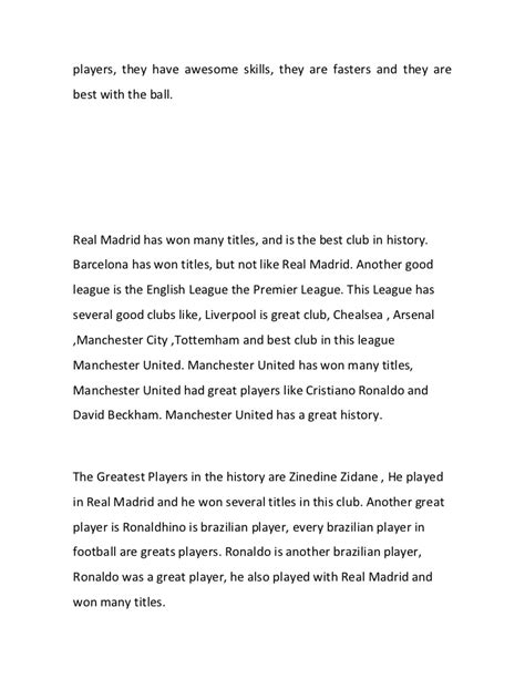 History Of Football Essay by 500 Word Essay On Football Essay Football Match School Boston The Best In Goa Goa College