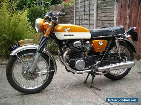Honda Cb For Sale by 1970 Honda Cb250 K2 For Sale In United Kingdom