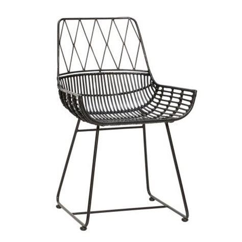Decke Für Sofa Sitzfläche by Rattanstuhl Schwarz Stuhl Design Stuhl Schwarz Sessel