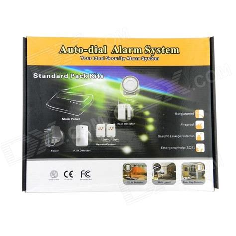 Best Deal Alarm Lcd Wireles Wired Berbasis Gsm Untuk Keamanan Rumah 606k1 wireless and wired home gsm band alarm system w