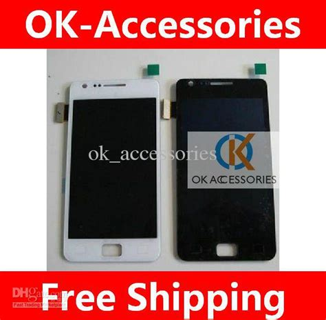 Lcd Samsung Galaxy S2 I9100 Touchscreen Original original quality touch screen digitizer lcd for samsung i9100 galaxy s2 repair replacement i9100
