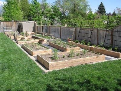 Garden Layout Ideas Garden Boxes Cottage Exterior