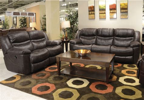 valiant coffee reclining sofa with drop table from - Reclining Sofa Coffee Table
