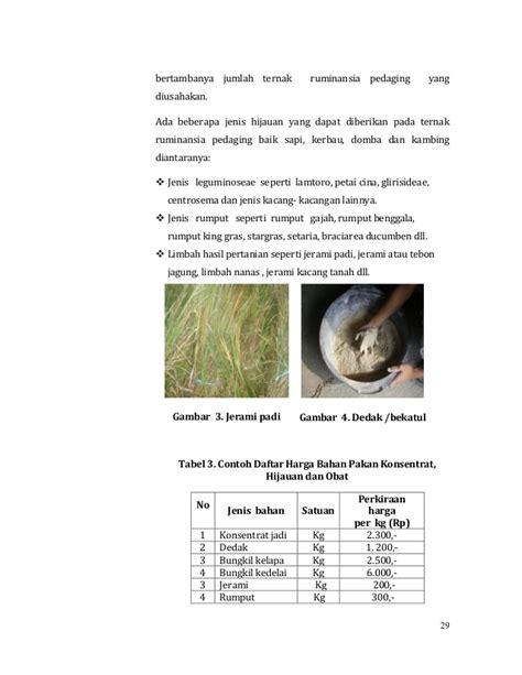 Harga Bungkil Kedelai Per Kg agribisnis ternak ruminasia pedaging