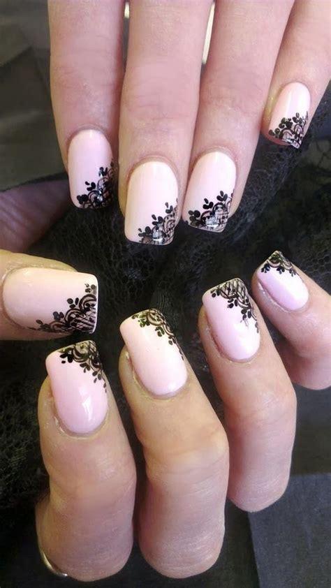 fashionable lace nail art designs hative