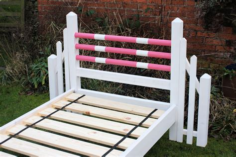 horse bed pony bed wooden slats