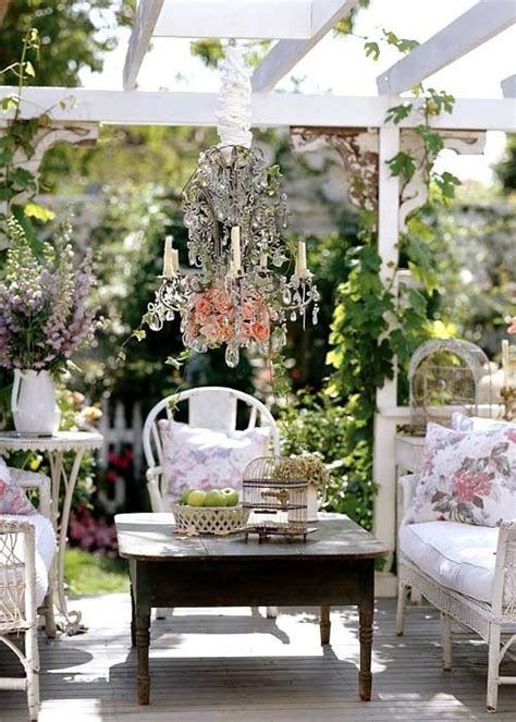diy outdoor shabby chic top easy backyard garden decor
