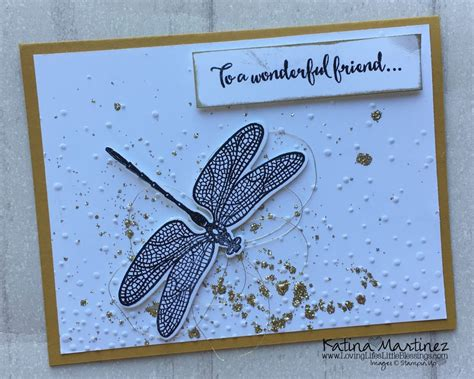 Dream Card Gift Card - 4 cards with dragonfly dreams loving life s little blessings