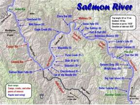 Map Of Oregon Rivers by Salmon River Maps Oregon River Experiences
