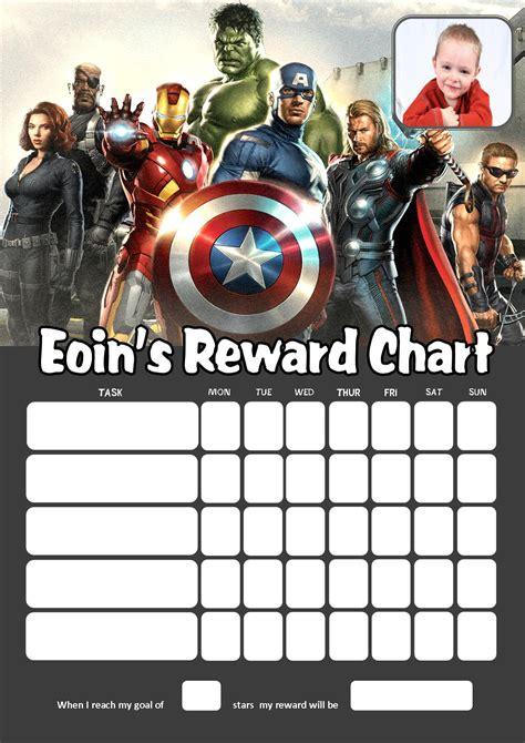 Printable Avengers Reward Charts   superhero symbols free printable joy studio design