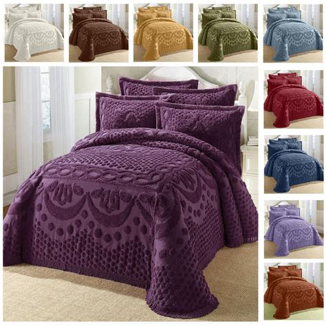 chenille comforters king chenille bedspreads