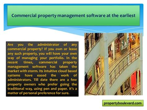 commercial property management software 5 reasons why you should get commercial property