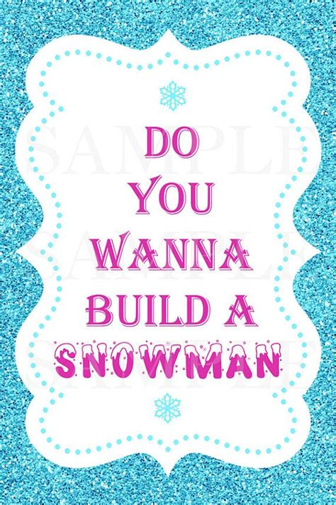 frozen printable etsy frozen party signs six party signs printable instant