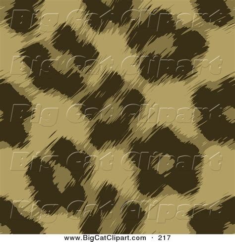 brown fur pattern big cat vector clipart of a brown leopard fur pattern